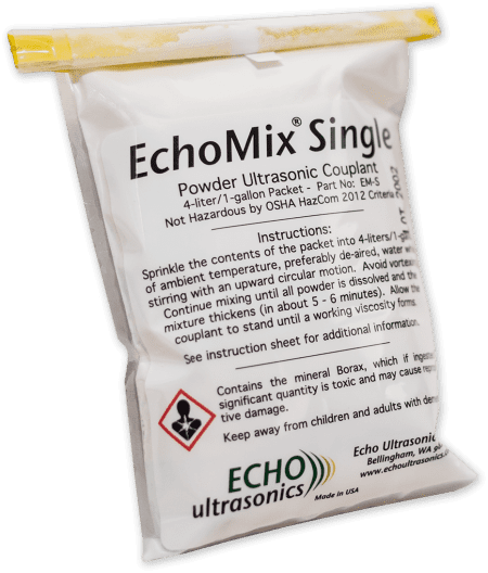 Echomix Single Powder Couplant