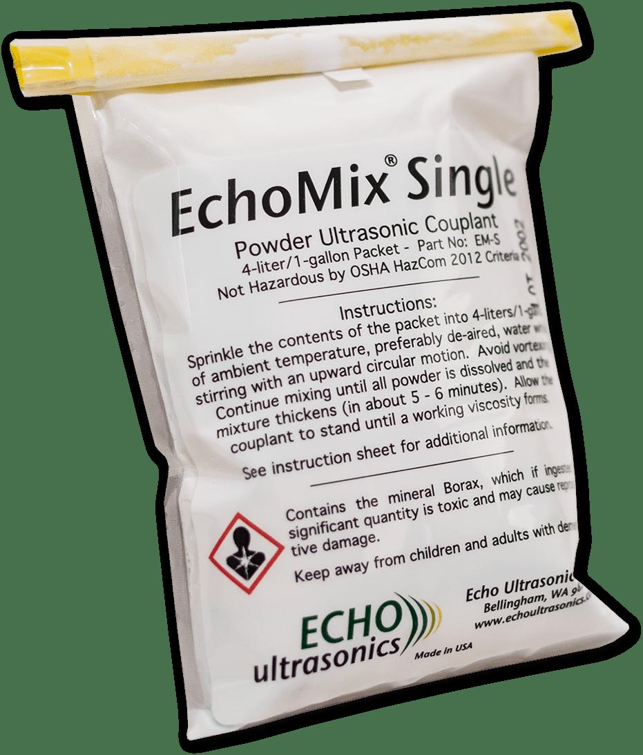 Echomix Single Powder Couplant