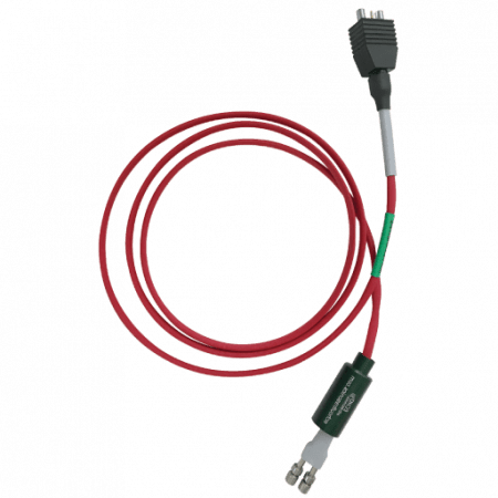 Highest temperature dual cables; FEP in a RED insulated sheath